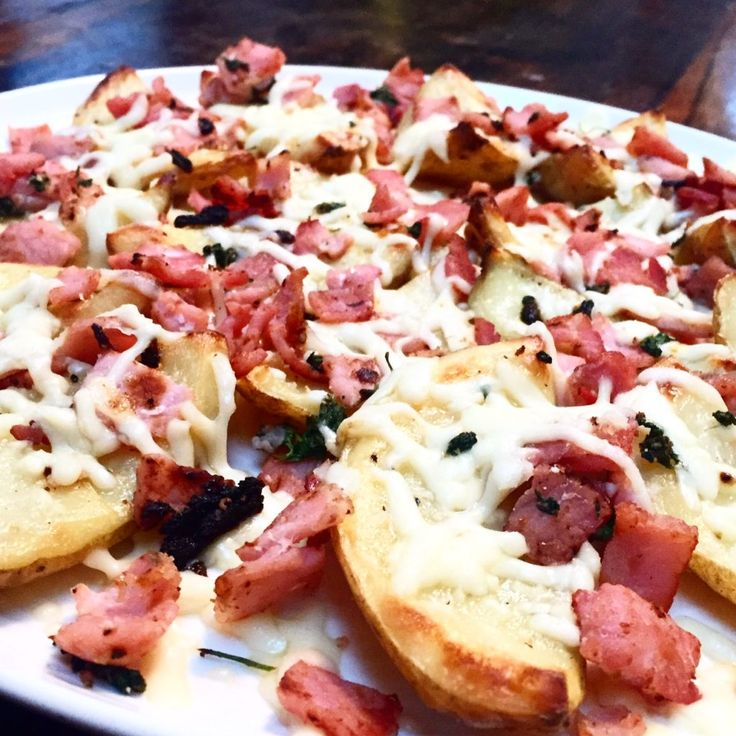 Syn Free Cheese & Bacon Loaded Potato Skins - Slimming World