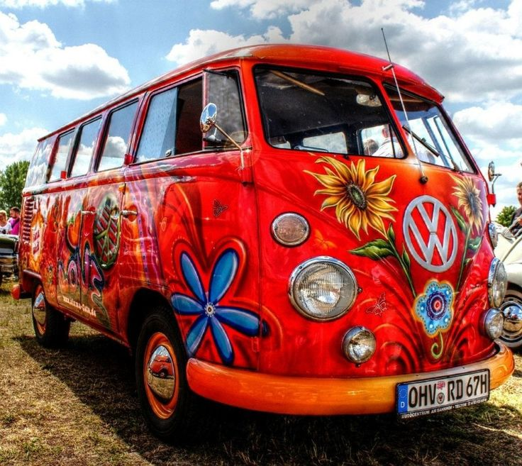 25 best ideas about vw hippie van on pinterest vw. Black Bedroom Furniture Sets. Home Design Ideas
