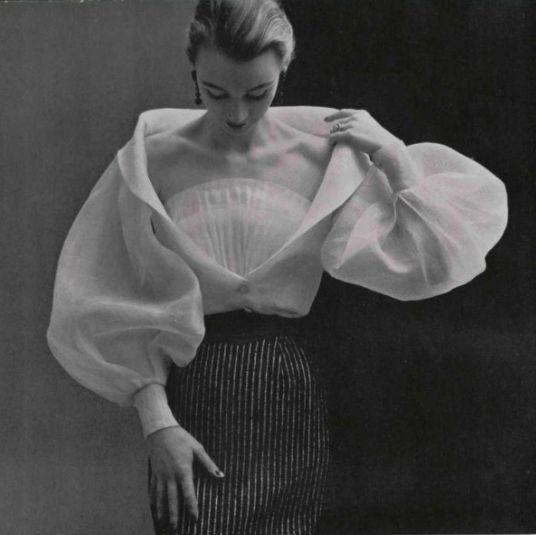 1952 Givenchy | #TempleTowels, www.templetowels.com