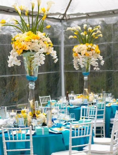 Yellow And Sky Blue Wedding - industri.info