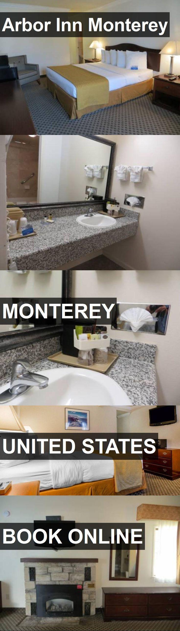 San Jose Monterey Map%0A Hotel Arbor Inn Monterey in Monterey  United States  For more information   photos