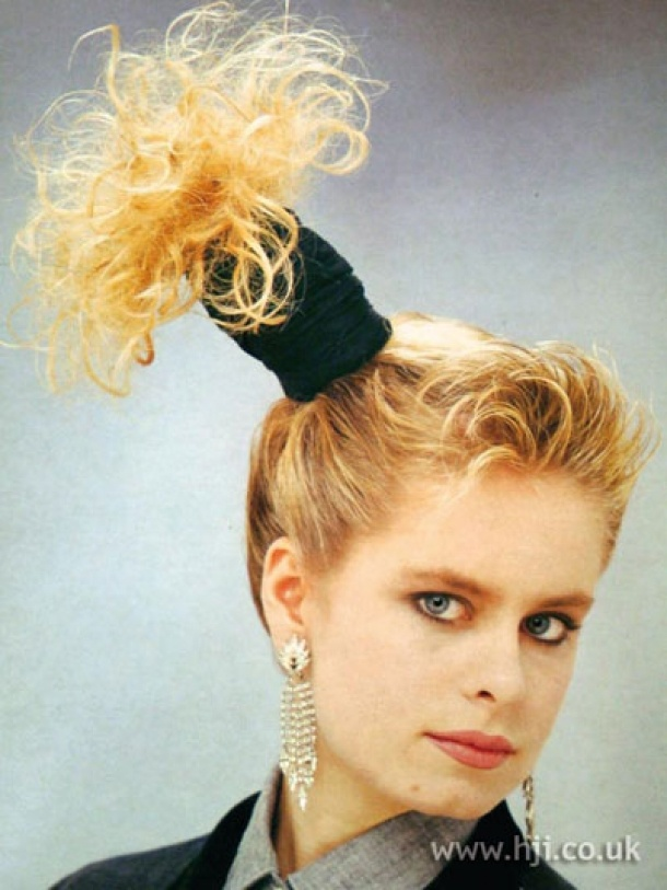 This is the most ridiculous hairstyle and although I didn't participate in this style I Remember some who did!