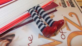 Wizard of oz. Ruby Slippers de Pitimini Cose