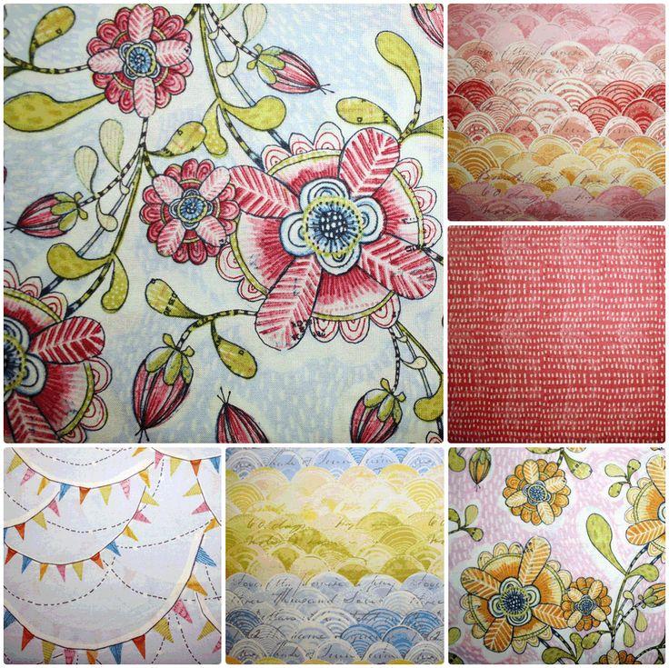 Hello World range of fabrics by Cori Dantini