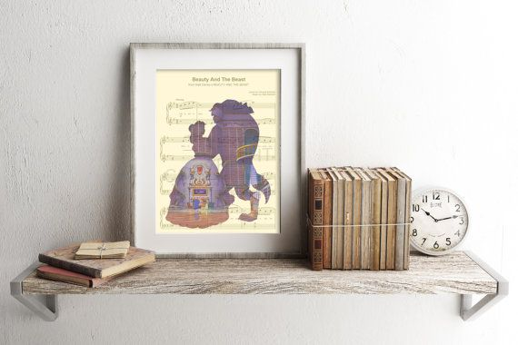 Hey, I found this really awesome Etsy listing at https://www.etsy.com/listing/465706687/beauty-and-the-beast-library-sheet-music