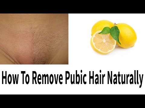 How To Remove Pubic Hair Permanently (Video) – Green Healthy World