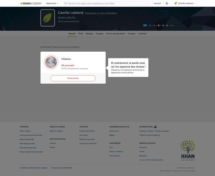 Khan Academy - Tutorial Coachmark
