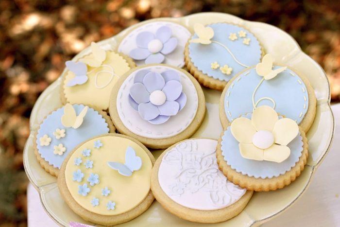 Galletas preciosas para una fiesta primavera / Lovely cookies for a spring party