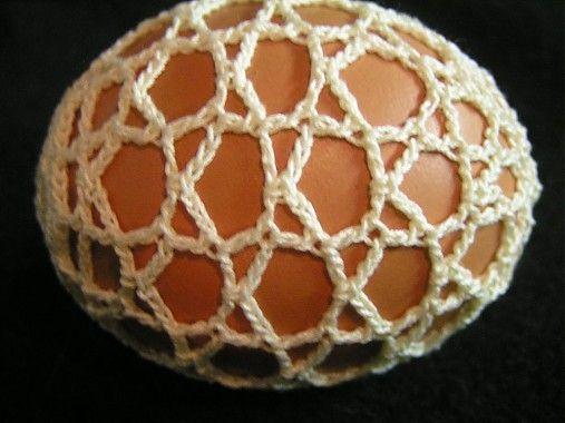 Gabriela.art / Háčkované vajce 5