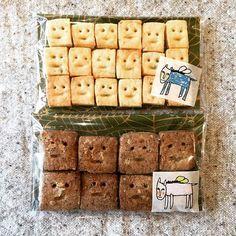材料3つ・袋で揉むだけ♡ザクザク「キューブクッキー」レシピ - Locari(ロカリ)