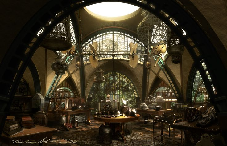 Concept art for 2004's Lemony Snicket's A Series of Unfortunate Events (Production Designer Rick Heinrichs). All artwork copyright the awesome Nathan Schroeder.