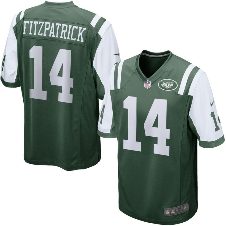 Ryan Fitzpatrick New York Jets Nike Game Jersey - Green
