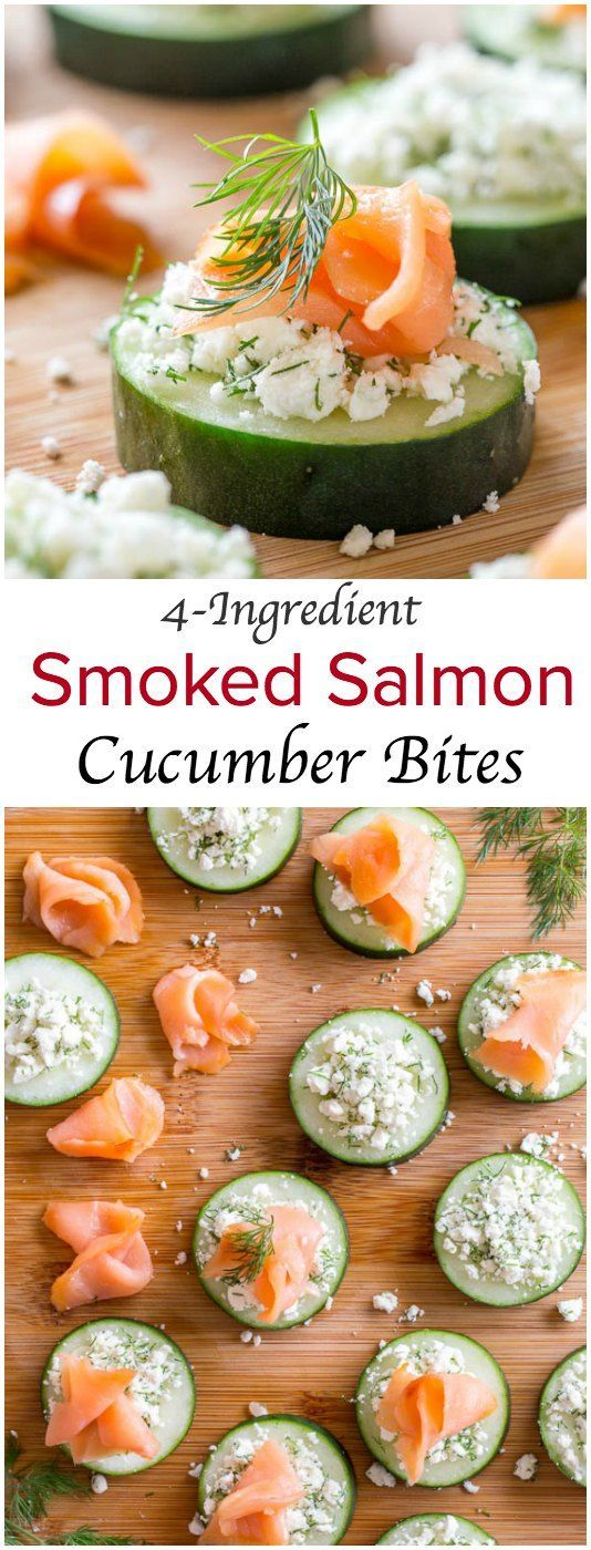 Super simple, yet elegant smoked salmon appetizer for any occasion! The ingredient list isn't big, but these little bites are sure big on flavor!