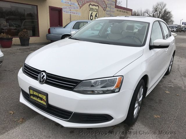 2013 Volkswagen Jetta Sedan 4dr Automatic SE PZEV - Click to see full-size photo viewer