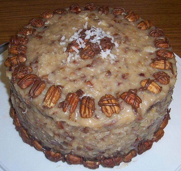 Easy German Chocolate Cake Icing Recipe
