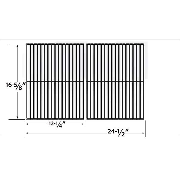 2 PACK PORCELAIN STEEL COOKING GRID REPLACEMENT FOR MASTER CHEF 85-3004-2, CHAR-BROIL 463247004, 463251605 GAS GRILL MODELS Fits Compatible Master Chef Models : T420LP, 85-3004-2, 85-3005-0, 85-3062-2, 85-3063-0, G45101, G45102, G45104, G45105, G45123, G45124, S420LP, T420, T420LP, T440 Read More @http://www.grillpartszone.com/shopexd.asp?id=33998&sid=26071