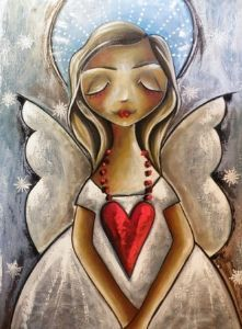"""""""Angel with heart"""""""