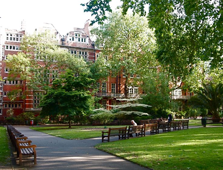 Mount Street Gardens. We HAVE to go here.