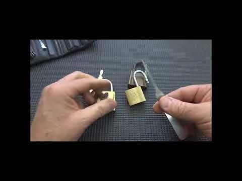 Como Abrir un Candado iejo sin llave facilmente