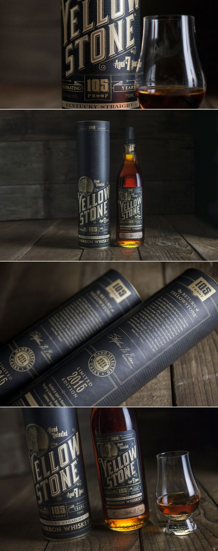 2015 Yellowstone Limited Edition Bourbon Whiskey — The Dieline - Branding & Packaging Design