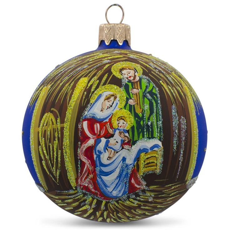 Religious Christmas Ornament: 18 Best Religious Christmas Ornaments Images On Pinterest