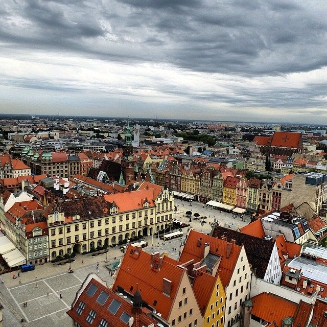 Wrocław, the largest city in western Poland (Wrocław = Breslavia in italiano, stavolta era necessario specificarlo...) | Flickr – Condivisio...