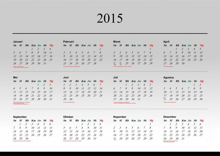 Kalender 2015 Indonesia - Design_43_Understand