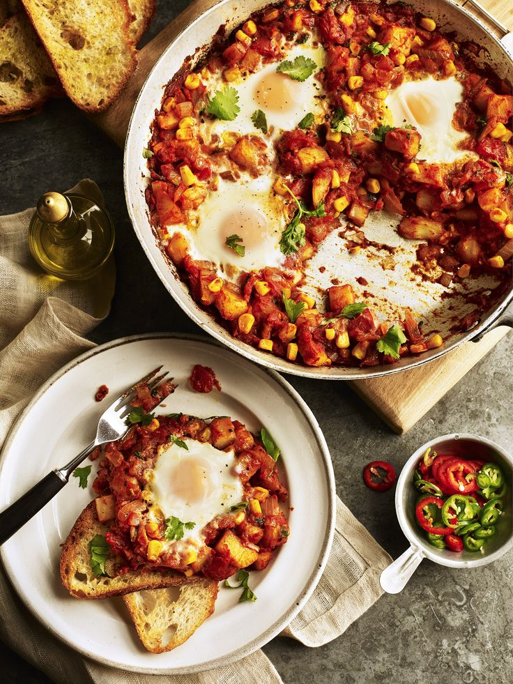 Try our Mexican Huevos Ranchos recipe. We have put together a range of delicious and nutritious potato recipes for you to discover!