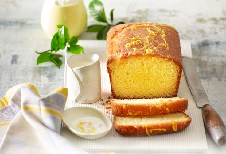 This yoghurt and lemon drizzle cake is refreshingly zesty