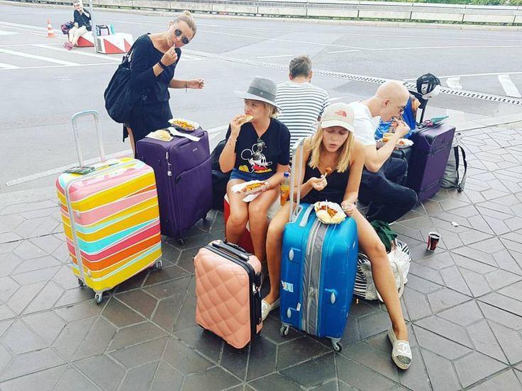 Wspaniała ekipa, między innymi Ciocia liestyle liestyle* i Jessica Mercedes JEMERCED :) oczywiście z walizką BG Berlin :D