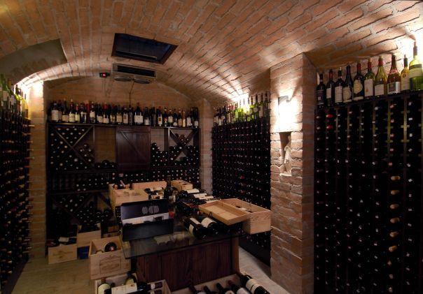 La Cantina dei vini del Friccò . San Paolo Brasile