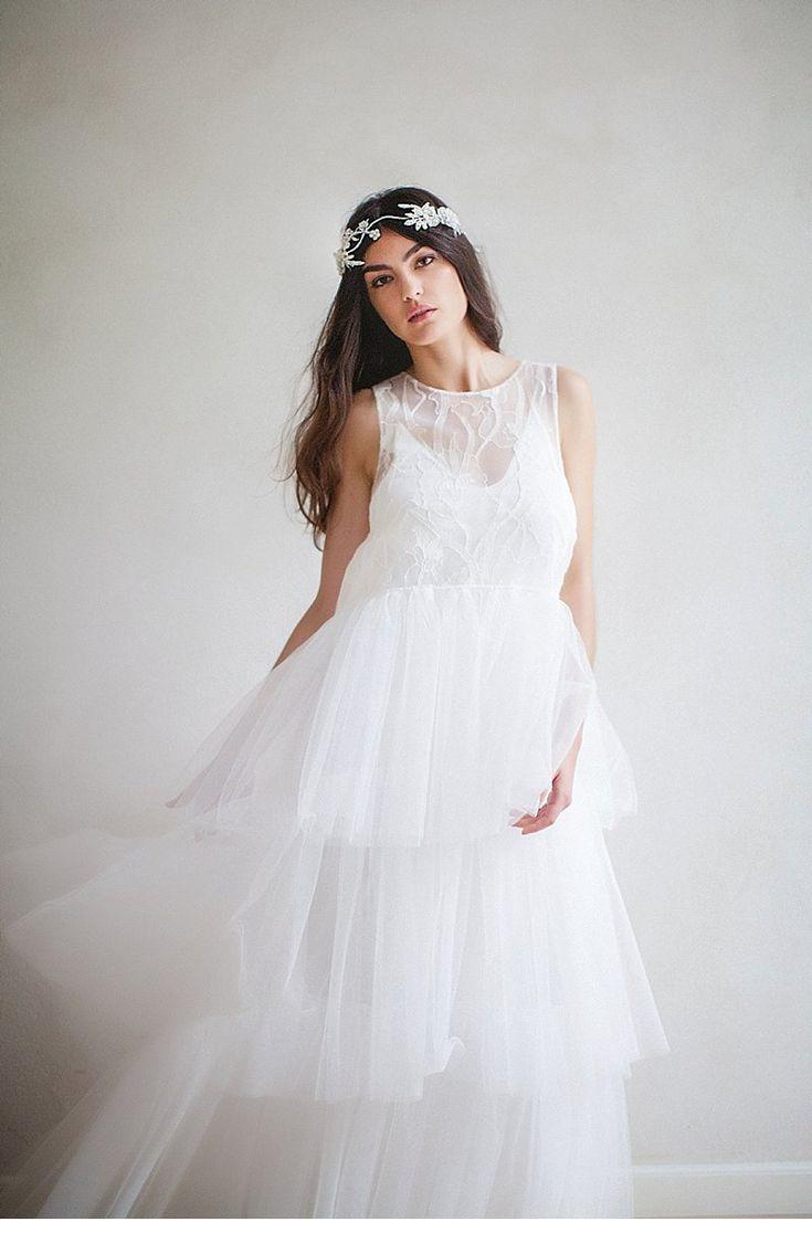 Swoon over jannie baltzer s wild nature bridal headpiece collection - Glamorous Bridal Accessories 2017 By Jannie Baltzer