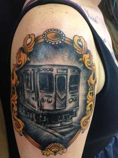161 best images about train tattoo on pinterest for Tattoo artist in fort lauderdale