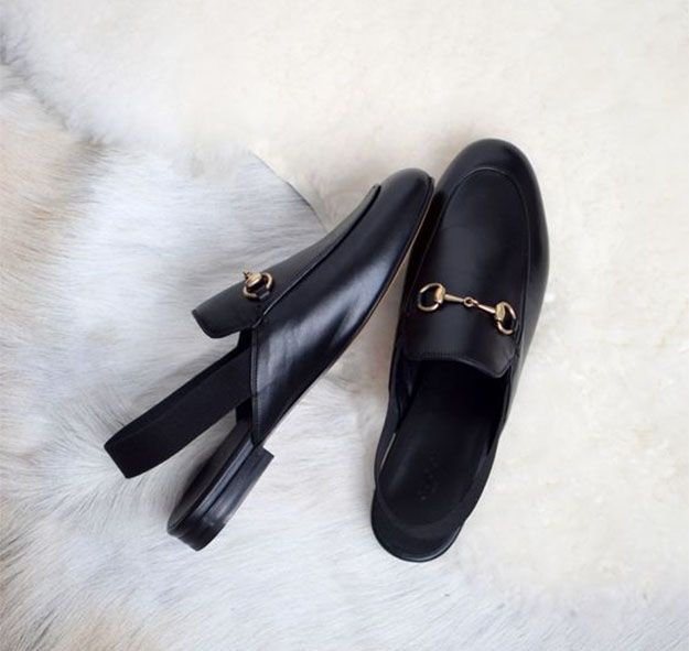 Gucci Horsebit Slingback Loafers | 10 Cute Slingback Shoes for Spring 2016, check it out at http://cuteoutfits.com/cute-slingback-shoes/