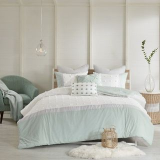 Shop for Urban Habitat Jojo Ivory 7 Piece Cotton Jaquard Comforter Set. Get free shipping at Overstock.com - Your Online Fashion Bedding Outlet Store! Get 5% in rewards with Club O! - 21336497