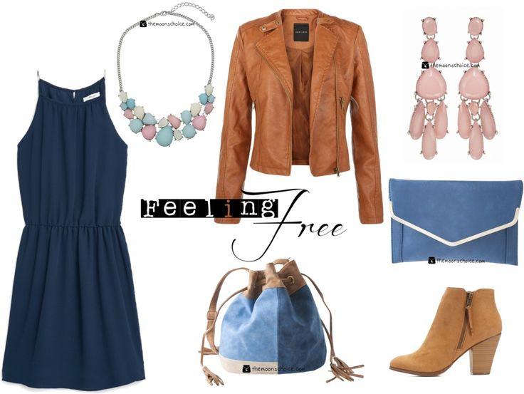 Desde la tienda de #complementos online #mujer te proponemos un outfit sencillo y elegante.