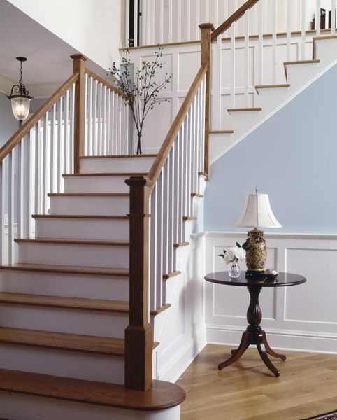 again I love this look but I definitely want the wrought iron balusters