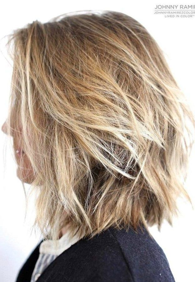 Color Ideas 2020 Bob Hairstyle 37 Short Choppy Layered Haircuts   Messy Bob Hairstyles Trends for