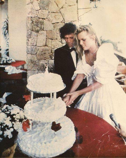 Keith Richards Amp Patti Hansen December 18 1983 Children