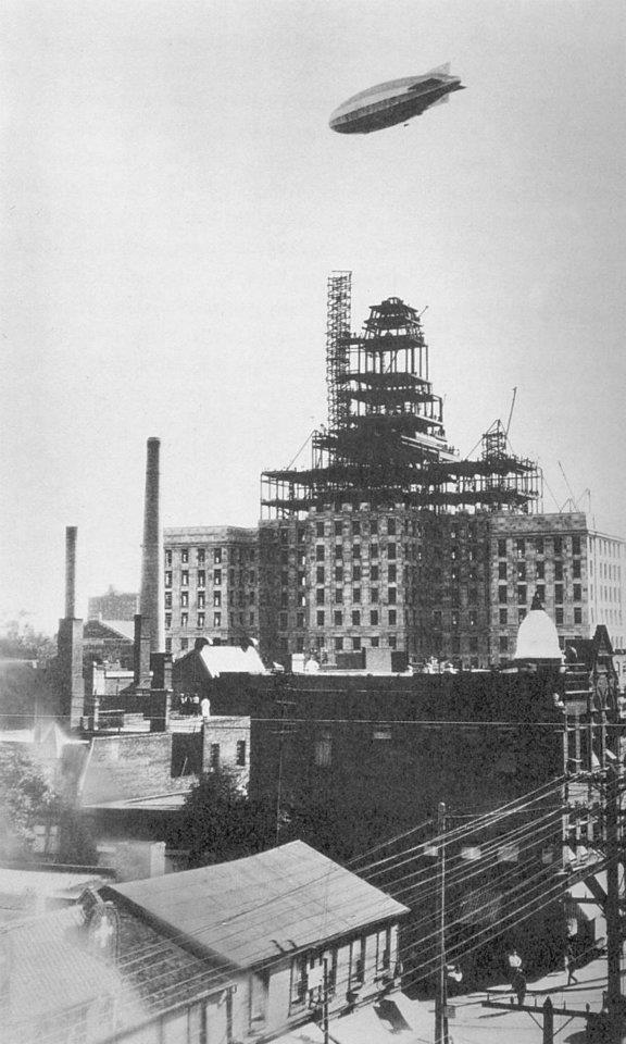 Royal York Toronto under construction