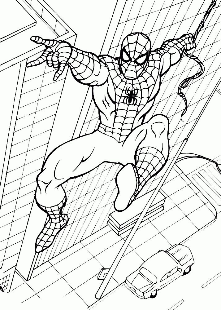 15 best Spiderman Ausmalbilder images on Pinterest | Malvorlagen ...