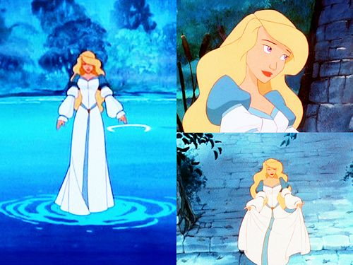 The Swan Princess, not technically a Disney film, but I feel like she deserves a place with the other princesses!