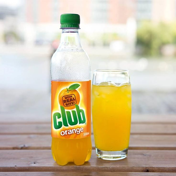 No mistaking the distinctive juicy 'bits' and refreshing taste of Club Orange - now available in USA!