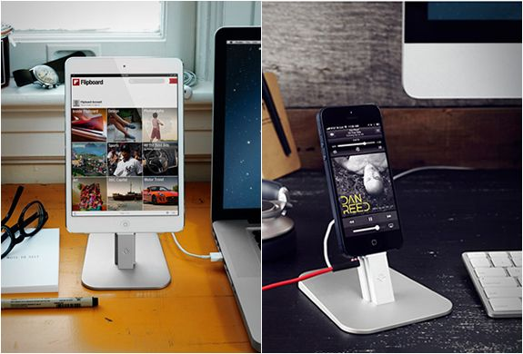 Twelve South creates beautifully designed accessories exclusively for Apple products. The new HiRise is a stylish, brushed metal stand for t...