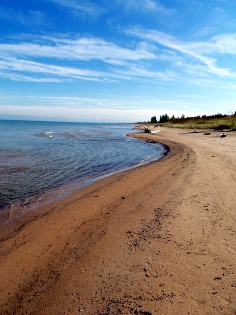 Dune Beaches at The Pinery near Grand Bend, Ontario, Canada. Image by Brad Scrinko.