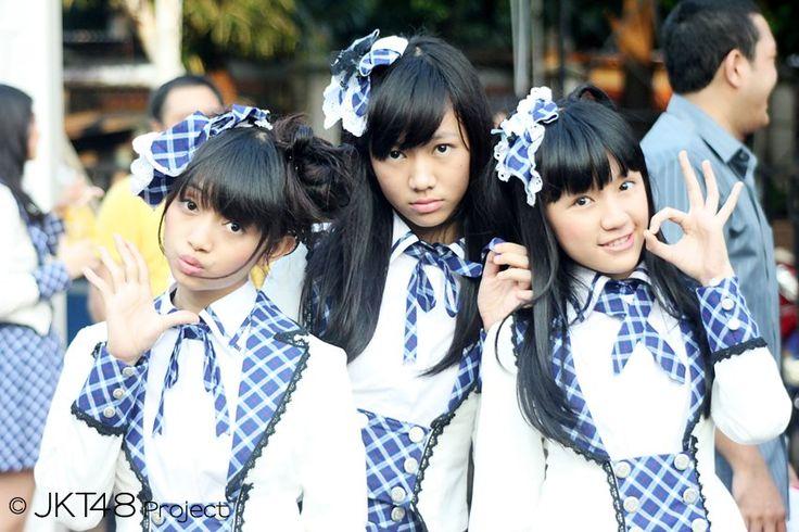 Rica Leyona, Shania Junianatha, Cindy Gulla #JKT48 #AKB48