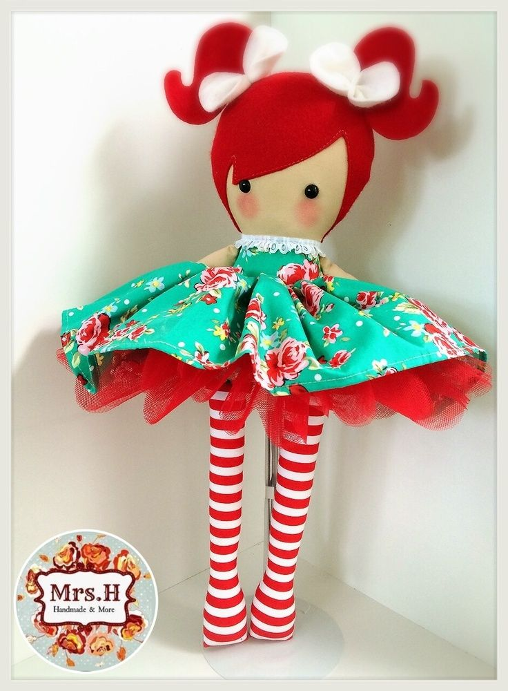 """19"""" dolly with removable skirt and tutu Suitable from birth Hand wash only"""