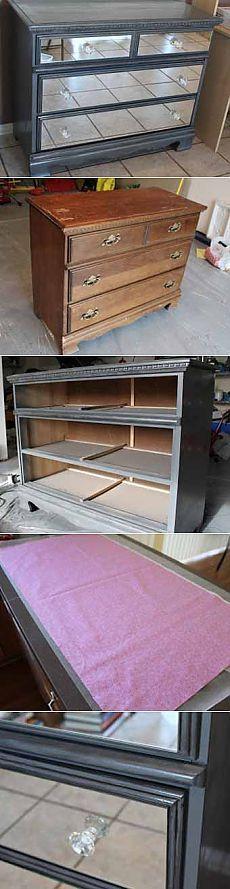Реставрация мебели своими руками мастер-класс: делаем зеркальный комод - Учимся Делать Все Сами