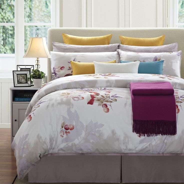 Everrouge Sparrow Cotton Bed In A Bag Bedding Set
