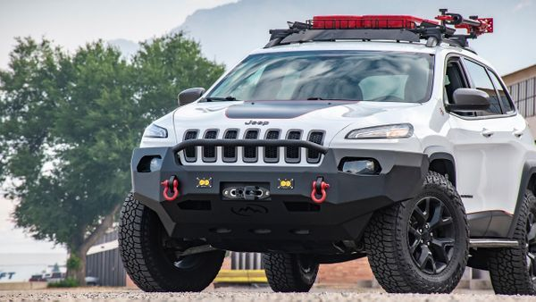Kl Cherokee Front Bumper Jeep Cherokee Accessories Lifted Jeep